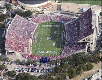 tcu horned frog stadium
