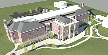 monmouth college science and business center