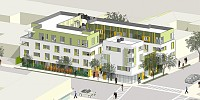 2802 Pico Avenue Apartments Construction, Santa Monica, CA, for Morley Builders